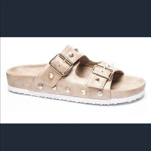 DIRTY LAUNDRY Quinn Slide Sandal